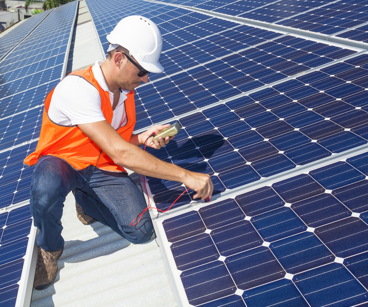 Show Me Pace contractor solar energy project
